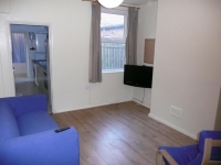 Student house, Lounge at 6 Harley Street, Lenton, Nottingham.